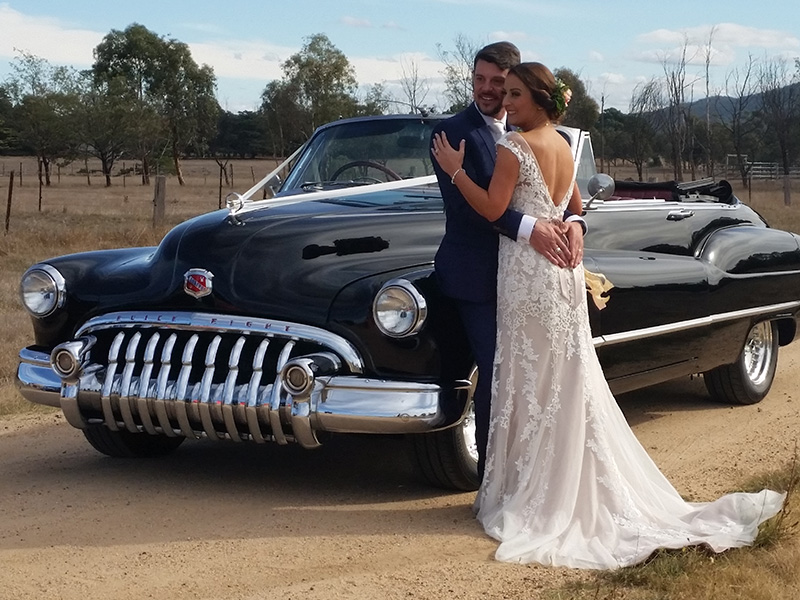 Black Buick Wedding Cars - 1950 Black Buick Convertible - Wedding Cars